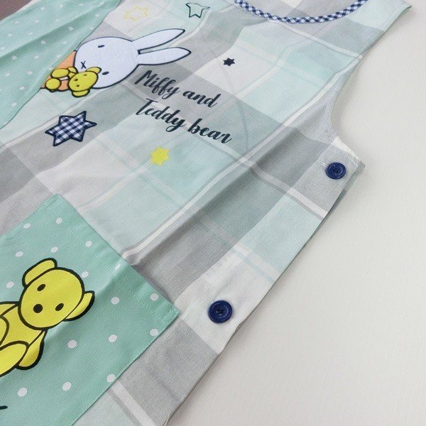 Miffy/'s Teddy Bag Apron Quilt Craft Fabric.