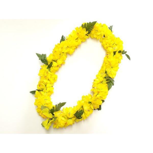 フラの定番ブランド ALOHA 送料無料 HAWAII LEIのレイ フラダンス レイ 黄 シェルジンジャー 12683 L-7 首飾り ショップ ハワイアン