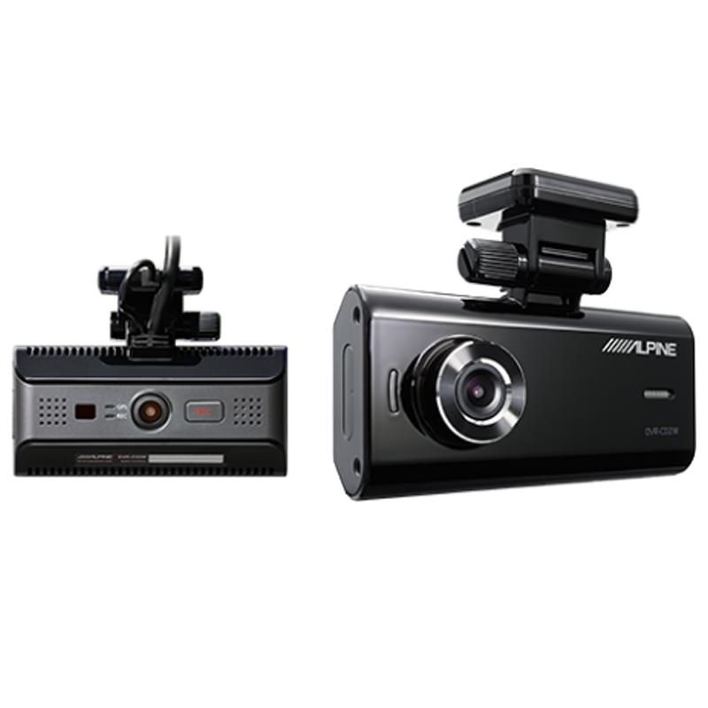 アルパイン ALPINE ドライブレコーダー ドラレコ フロントカメラ ルームカメラ 2カメラ 前方 車内 録画 駐車監視 おすすめ 新品 DVR-C02W