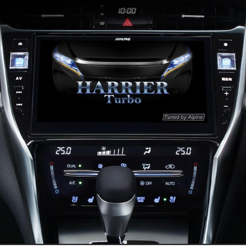 アルパイン ALPINE カーナビ ビッグX BIGX トヨタ ハリアー HARRIER 専用 10インチ 10型 新品 EX10Z-HA2