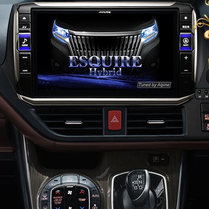 アルパイン ALPINE カーナビ ビッグX11 BIGX11 トヨタ エスクァイア ESQUIRE 専用 11インチ 11型 新品 EX11Z-EQ