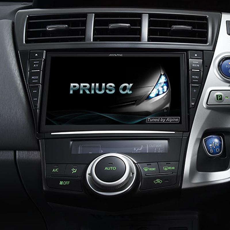 アルパイン ALPINE カーナビ ビッグX BIGX トヨタ プリウスα PRIUSα 専用 9インチ 9型 新品 EX9Z-PRA2
