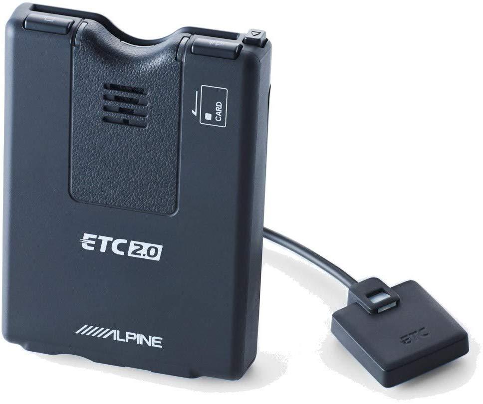 アルパイン ALPINE ETC2.0車載器(光ビーコンアンテナ付属)NXカーナビシリーズ専用 HCE-B120V