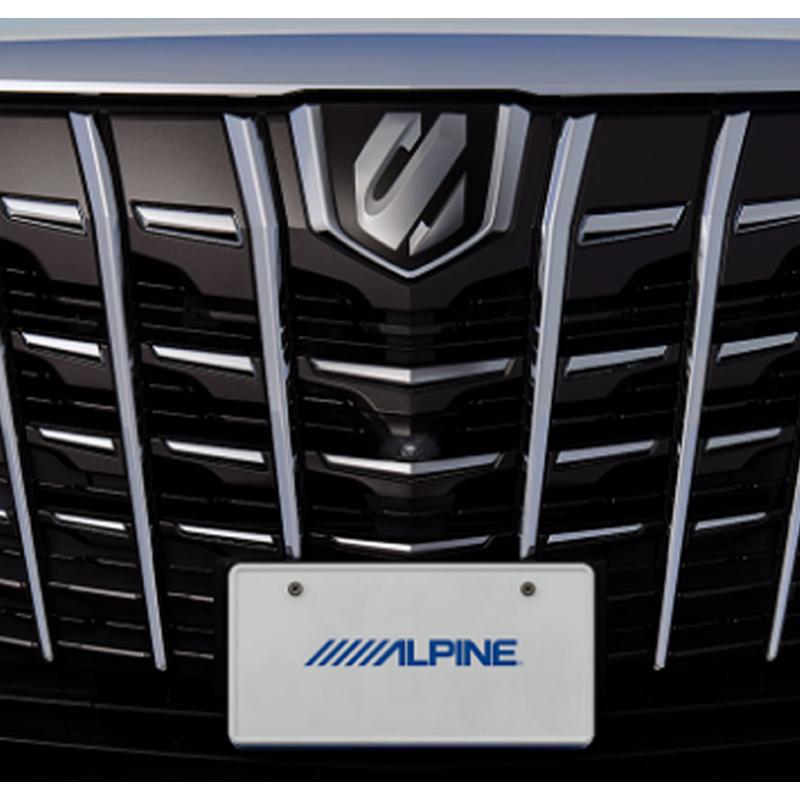 アルパイン ALPINE フロントカメラ バックカメラ リアカメラ アルファード(マイナーチェンジ後)専用 2カメラ・マルチトップビューシステム HCE-C4000D-AL2