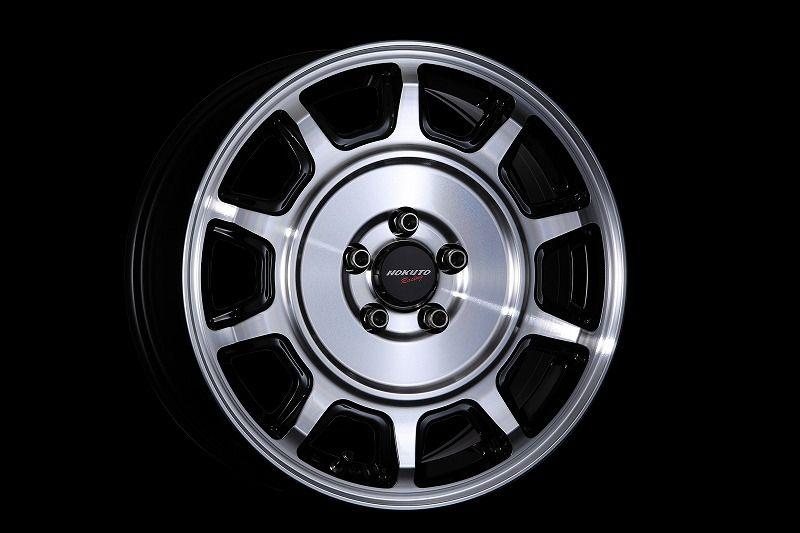 CRIMSON クリムソン Hokuto Racing ホクトレーシング 零式-S ホイール 単品1本 17インチ シルバー系 7.0J PCD100 5穴 デッシュ系 セダン・ワゴン