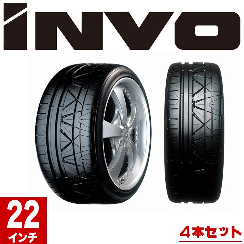 NITTO ニットー INVO サマータイヤ 4本セット 22インチ 295/25R 101W XL ニットータイヤ 夏タイヤ 新品