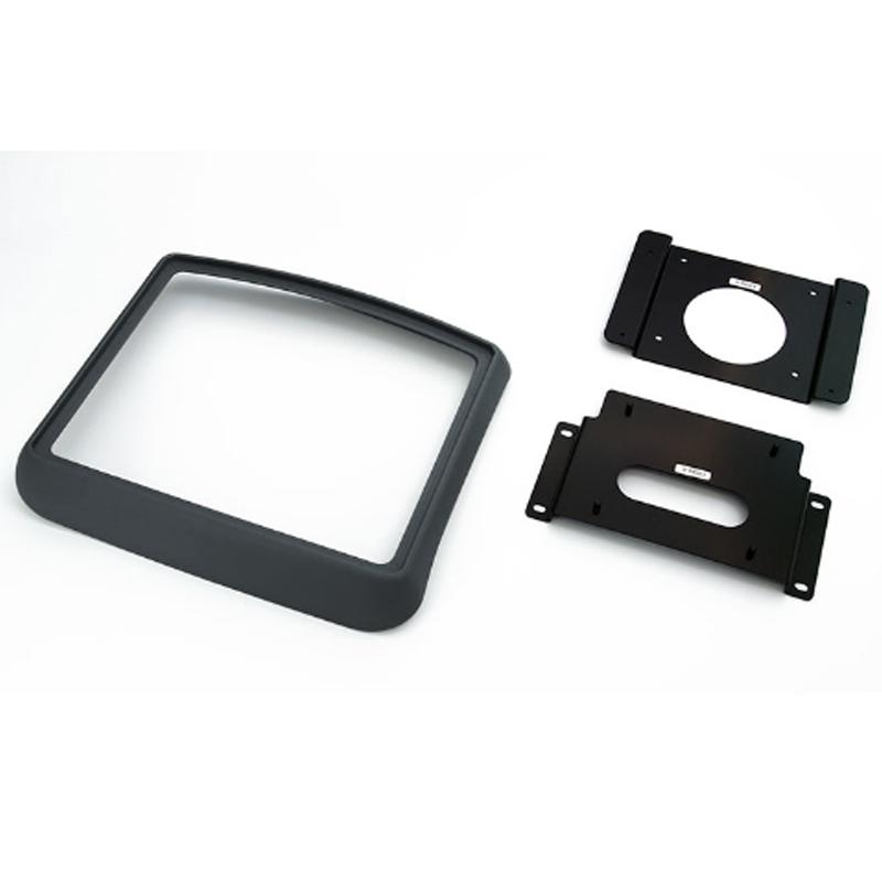 アルパイン ALPINE リアモニター設置用 取り付けキット ハイエース レジアスエース 専用 10型 リアビジョン パーフェクトフィット(黒)KTX-Y703BK