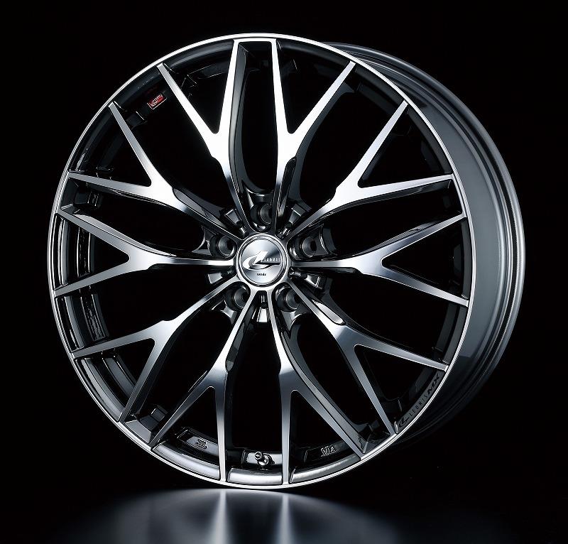 weds ウェッズ LEONIS レオニス MX エムエックス アルミホイール 4本セット 17インチ シルバー光系 7.0J PCD114.3 5穴 メッシュ ミニバン・ワゴン・セダン