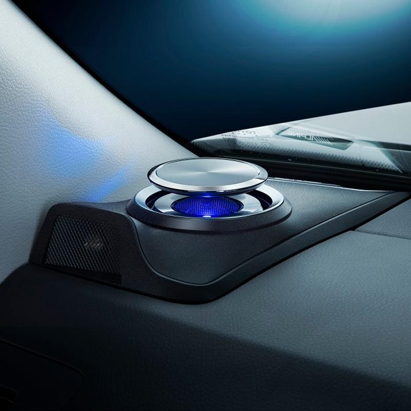 アルパイン ALPINE スピーカー カーオーディオ カースピーカー ランドクルーザープラド 専用 LED リフトアップ3wayスピーカー X3-180S-LUP-LP2