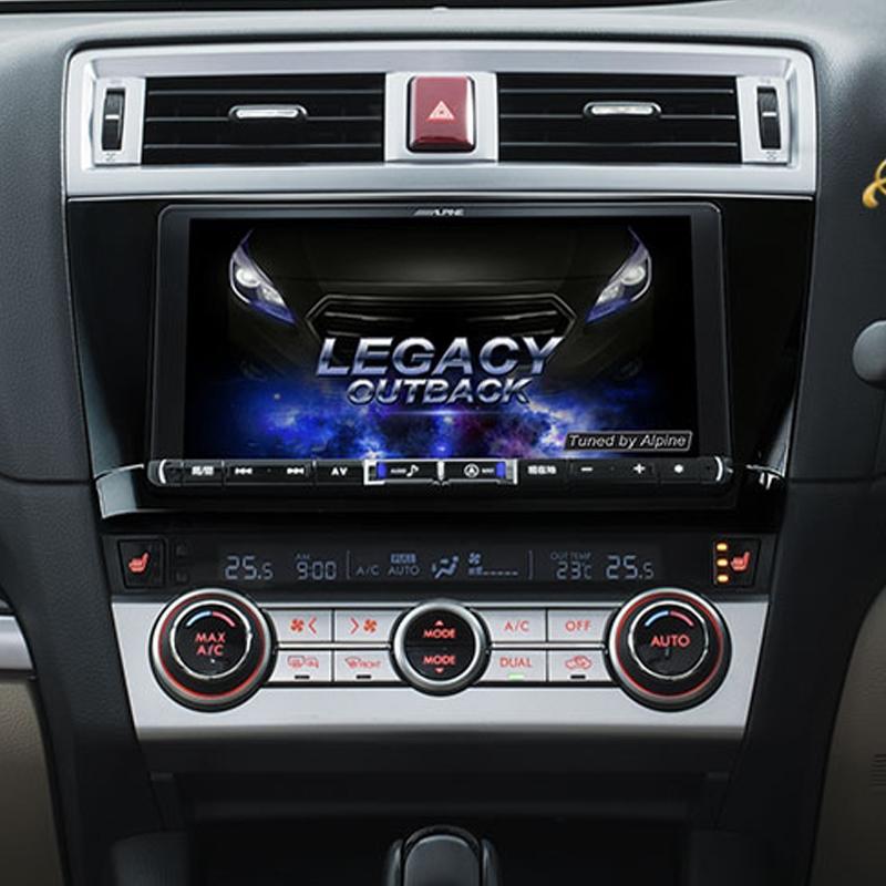 アルパイン ALPINE カーナビ ビッグX BIGX スバル レガシィ アウトバック LEGACY OUTBACK 専用 9インチ 9型 新品 WXGAカーナビ X9Z-OUT