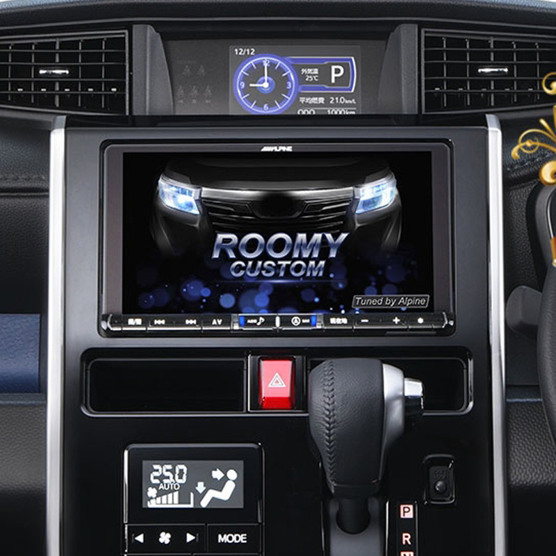 アルパイン ALPINE カーナビ ビッグX BIGX トヨタ タンク ルーミー 専用 9インチ 9型 ナビレディ対応パッケージ 新品 X9Z-TR-NR