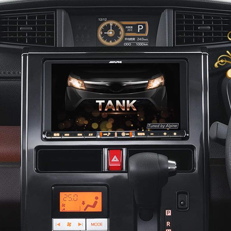 アルパイン ALPINE カーナビ ビッグX BIGX トヨタ タンク TANK ルーミー ROOMY 専用 9インチ 9型 ナビレディ対応パッケージ(アンバーイルミネーション)新品 X9ZA-TR-NR