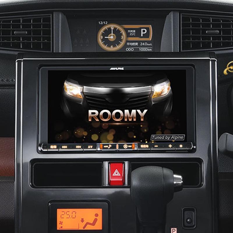 アルパイン ALPINE カーナビ ビッグX BIGX トヨタ タンク TANK ルーミー ROOMY 専用 9インチ 9型 パノラミックビューカメラ対応 (アンバーイルミ)新品 X9ZA-TR-PM