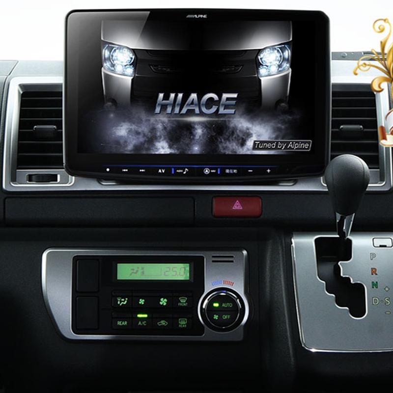 アルパイン ALPINE カーナビ フローティングビッグX11 BIGX11 トヨタ ハイエース HIACE 専用 11インチ 11型 メーカーオプション バックカメラ対応 新品 XF11Z-HI-NR