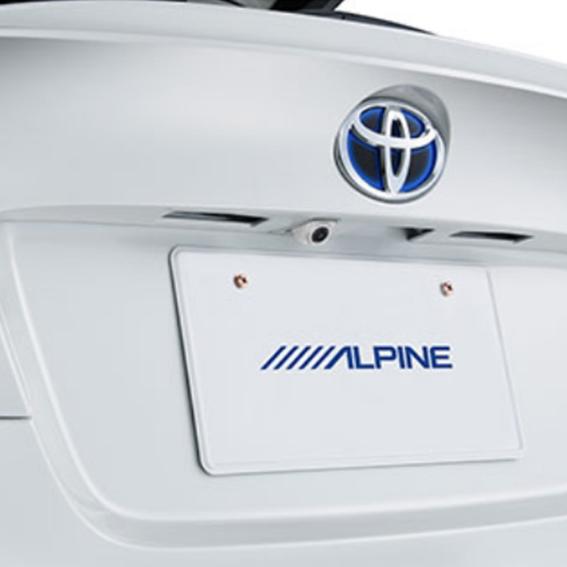 アルパイン ALPINE バックカメラ リアカメラ C-HR CHR シーエイチアール 専用 HDRバックビューカメラパッケージ HCE-C1000D-CHR-W
