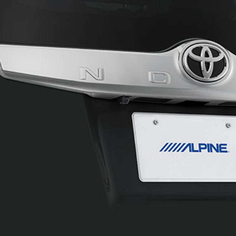アルパイン ALPINE バックカメラ リアカメラ ヴォクシー エスクァイア ノア 専用 HDRバックビューカメラパッケージ HCE-C1000D-NVE