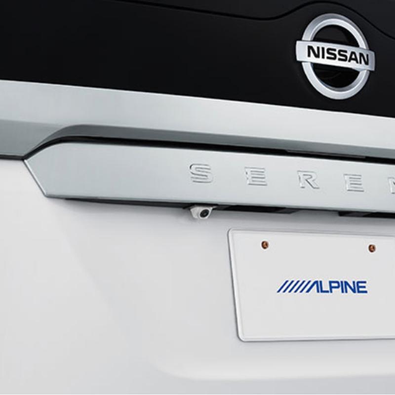 アルパイン ALPINE バックカメラ リアカメラ セレナ 専用 HDRバックビューカメラパッケージ HCE-C1000D-SE-W