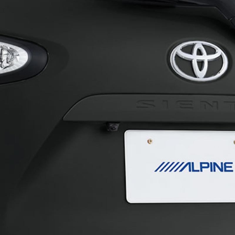 アルパイン ALPINE バックカメラ リアカメラ シエンタ 専用 HDRバックビューカメラパッケージ HCE-C1000D-SI