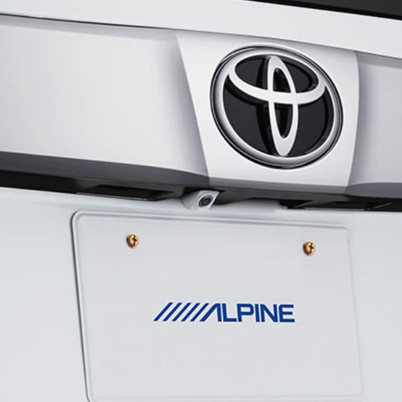 アルパイン ALPINE バックカメラ リアカメラ アルファード ヴェルファイア 専用 HDRマルチビュー・バックカメラ HCE-C2000RD-AV-W