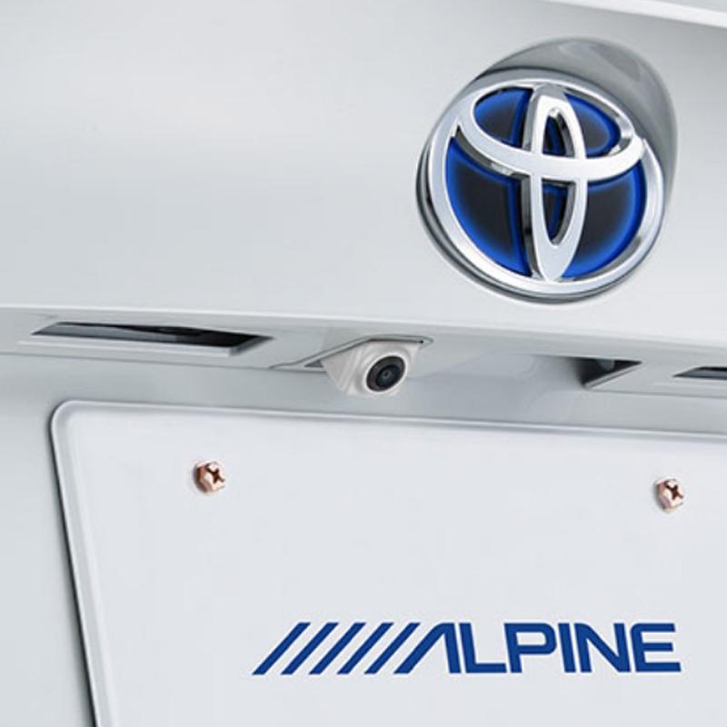 アルパイン ALPINE バックカメラ リアカメラ C-HR CHR シーエイチアール 専用 HDRマルチビュー・バックカメラ HCE-C2000RD-CHR-W