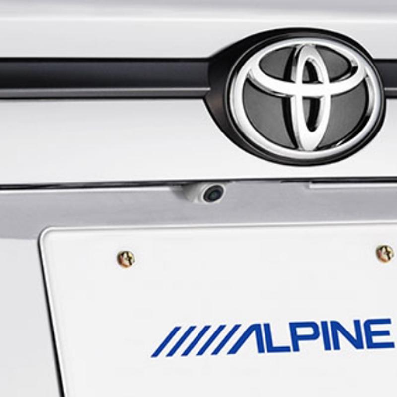 アルパイン ALPINE バックカメラ リアカメラ ハリアー 専用 HDRマルチビュー・バックカメラ HCE-C2000RD-HA-W