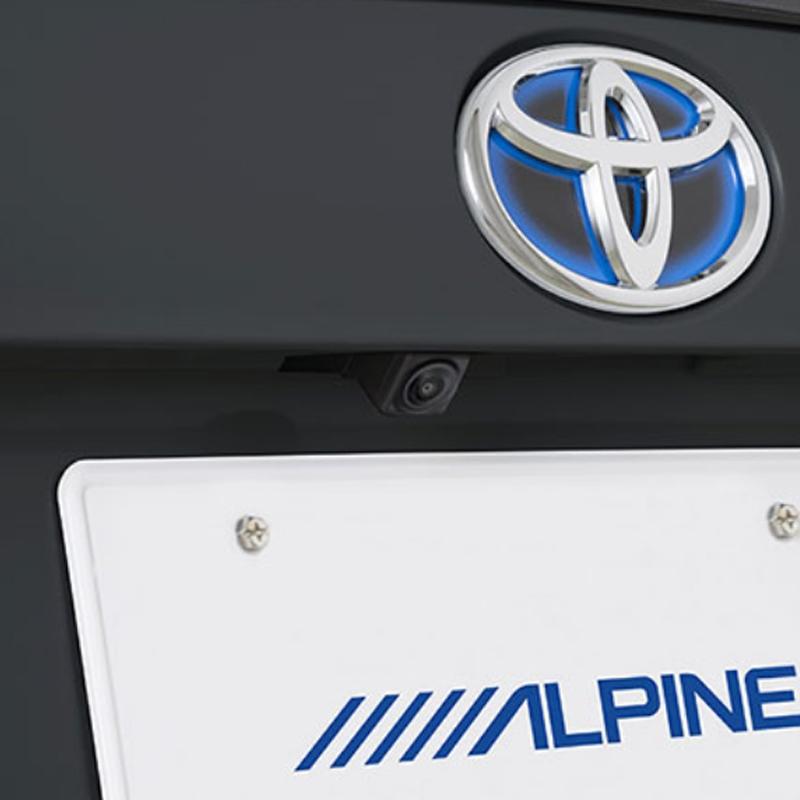 アルパイン ALPINE バックカメラ リアカメラ プリウス 専用 HDRマルチビュー・バックカメラ HCE-C2000RD-PR