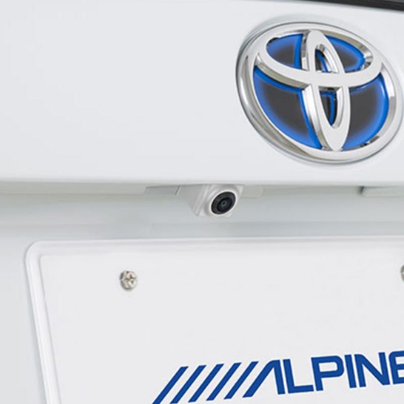 アルパイン ALPINE バックカメラ リアカメラ プリウス 専用 HDRマルチビュー・バックカメラ HCE-C2000RD-PR-W
