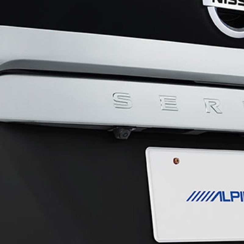 アルパイン ALPINE バックカメラ リアカメラ セレナ 専用 HDRマルチビュー・バックカメラ HCE-C2000RD-SE