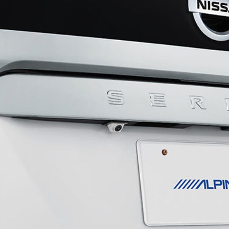 アルパイン ALPINE バックカメラ リアカメラ セレナ 専用 HDRマルチビュー・バックカメラ HCE-C2000RD-SE-W