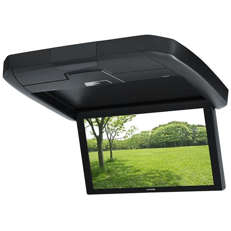 アルパイン ALPINE リアモニター フリップダウンモニター 後席モニター 12.8型 12.8インチ 車載モニター カーモニター 天井 DVD HDMI リアビジョン 新品 RXH12X-L-B