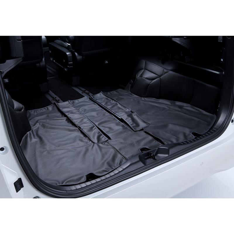 アルパイン ALPINE トランクカバー 車 アルファード ヴェルファイア 専用 レザー 汚れ防止 トランクプロテクトカバー 新車計画 SSK-TR01AV