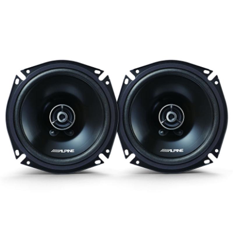 高解像度でクリアな音へ コアキシャルタイプ アルパイン メーカー公式ショップ スピード対応 全国送料無料 ALPINE スピーカー カーオーディオ カースピーカー 車用 2way STE-G170C 車載用 17cm コアキシャル グレードアップスピーカー