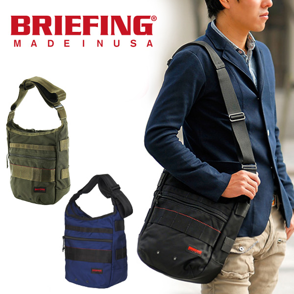 【P17倍※Rカード&エントリー】ブリーフィング BRIEFING正規品ショルダーバッグ【RED LINE/レッドライン】[DAY TRIPPER] brf032219 メンズ ギフト 通勤 ビジネス 斜めがけバッグ 【P10倍】 プレゼント ギフト カバン【送料無料】 週末限定