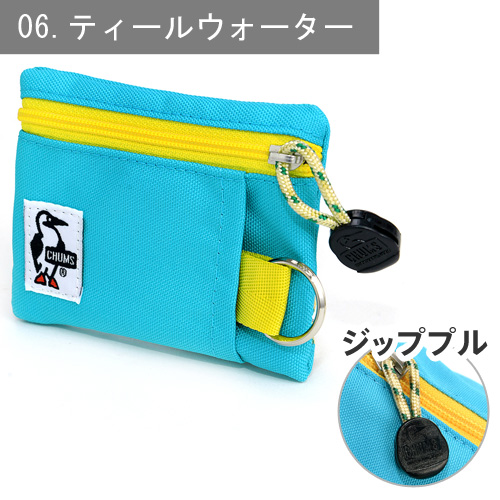 "Chums Coin bag Key bag Transportation card [Ecologically manufactured in Cordura] [Eco Key Coin Case] ??CH60-0856 Men Women Birthday gift Change bag  Monthly ticket clip Popular brand  Purse [RCP], ''Postal parcel"" [ f3-b2] [f3-c] [chu10cou]"