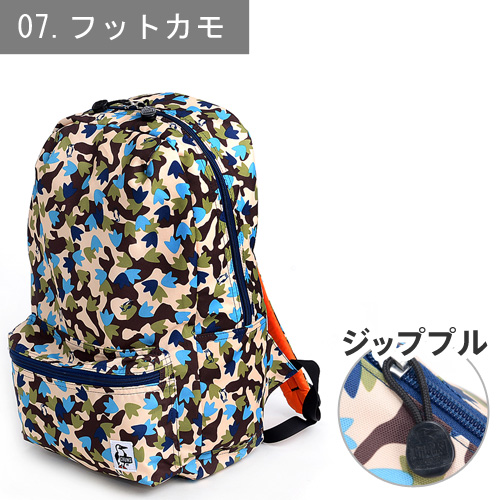 CHUMS 恰恰鸟!旅行背包 小背包【Cordura Eco Made】 [Eco Hurricane Day Pack] CH60-0845 男士 礼物 女士 中性 上学 高中生 时尚 生日礼物 可爱  P27Mar15 【免运费】 【chu10cou】【dre-c1】