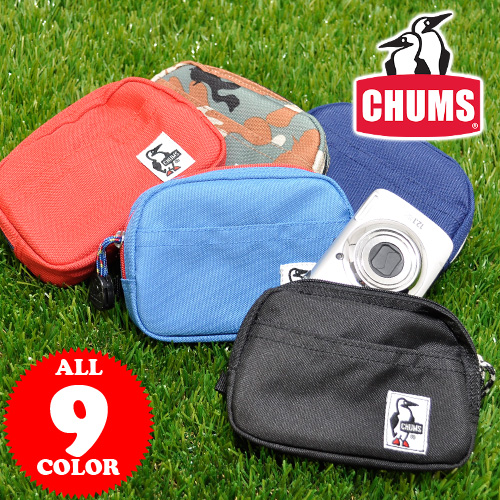 Chums CHUMS! Multicast digital camera case pouch Eco Dual Case CH60-0859 (CH60-0284) men's gifts ladies fancy son Chan Noh