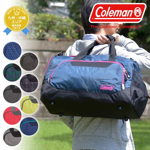Coleman Coleman! cbd4011 men women 2-way Boston bag shoulder bag bag SM [BOSTON BAG SM] [store]
