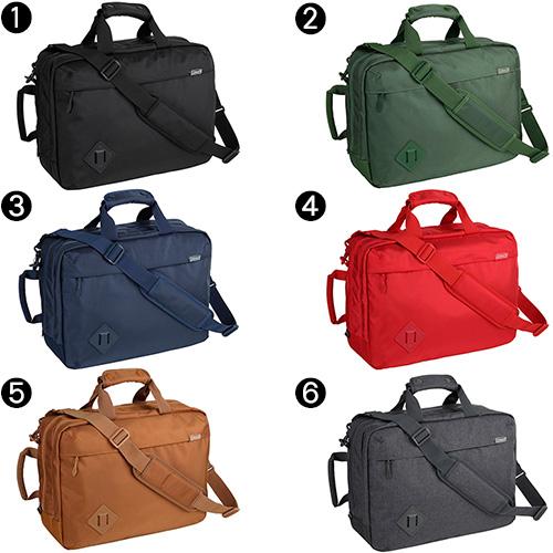 Coleman 科爾曼! 3 路商務袋背包挎包 27004 男士女士還袋 B4 A4 通勤 PC 存儲