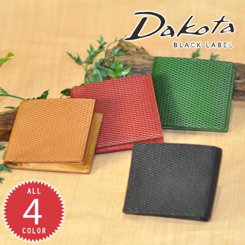 ダコタブラックレーベル Dakota black label!二つ折り財布 【レティコロ】 626101 メンズ レディース 【送料無料】 プレゼント ギフト ラッピング【コンビニ受取対応商品】【あす楽】