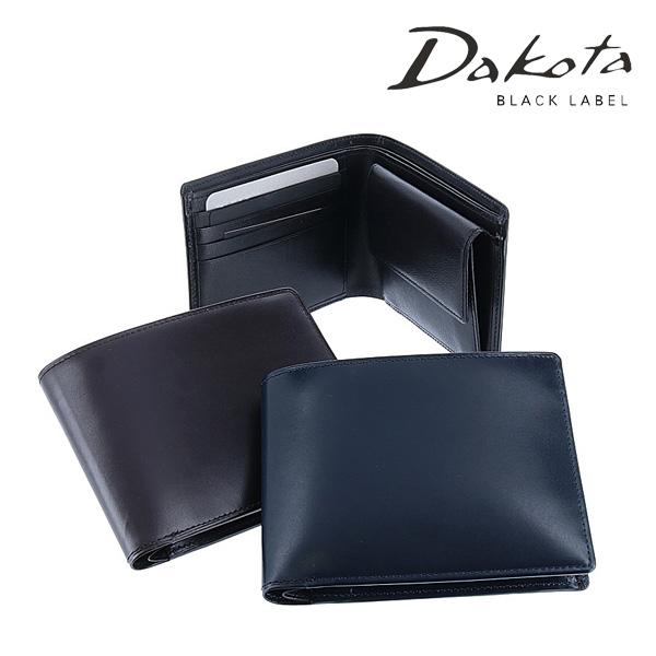 【P17倍※Rカード】ダコタブラックレーベル Dakota black label 二つ折り財布 折財布 ミニ財布 【モルト】 627000 メンズ  【送料無料】 あす楽