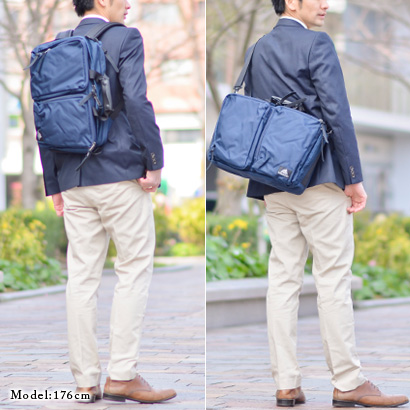 Gregory GREGORY! 3-WAY business bags 11310565 mens travel A4 B4 Luc fashionable shoulder bag also bag commuters