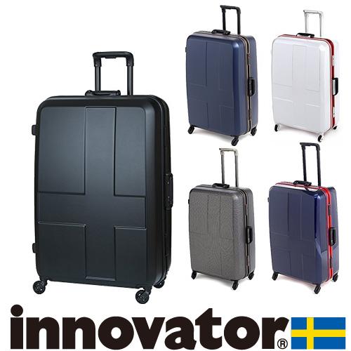 スーツケース キャリー ハード 旅行!イノベーター innovator スーツケース 大型 90L 1週間以上 inv68 メンズ レディース プレゼント ギフト【送料無料】 ラッピング【あす楽】