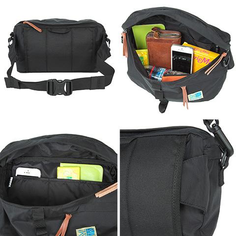 karrimor! 2way bum-bag [VT hip bag B]337157 men gap Dis [mail order]
