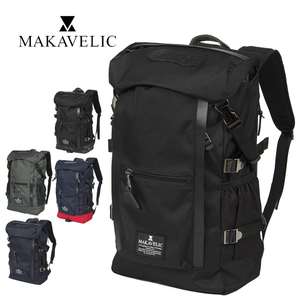 【P23倍★8/5】マキャベリック MAKAVELIC!リュックサック デイパック バックパック 大容量 【CHASE/チェス】 [DOUBLE LINE BACKPACK] 3106-10107 メンズ レディース 学生 通学 通勤【P10倍】 【送料無料】 プレゼント ギフト ラッピング【コンビニ受取対応】【あす楽】