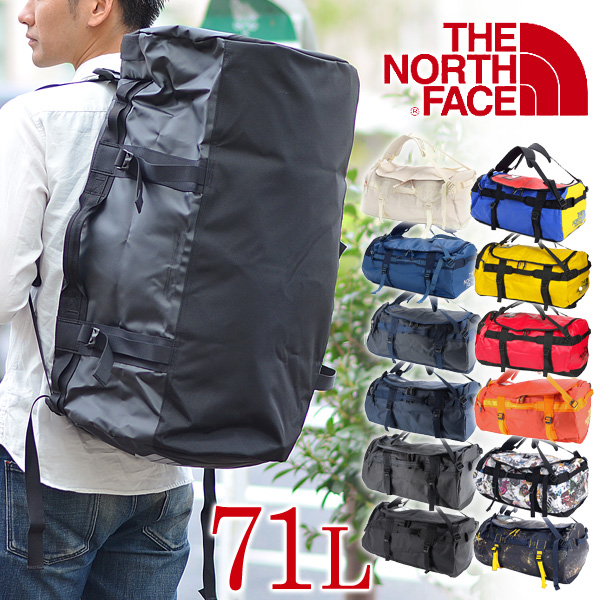 【20%OFFセール】ザ・ノースフェイス THE NORTH FACE!2wayボストンバッグ【BASE CAMP】[BC DUFFEL M] リュックサック メンズ レディース 旅行 修学旅行 宿泊学習 合宿 出張 大容量 高校生 通学 プレゼント ギフト A4 送料無料 コンビニ受取対応 あす楽
