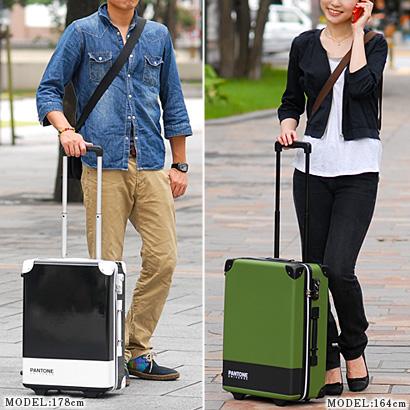 Suitcase carry case hard travel bag! Stylish cute PANTONE universe PANTONE UNIVERSE (29 L) pnz011 men women carry bag