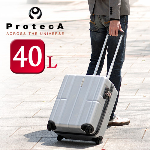 Protein ProtecA 02131 suitcase TSA lock equipped with Ace Ace men's women's hard carry case travel bag lightweight travel short-term travel Japan made