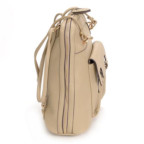 囊囊! 2 路大手提包背包 [Miguasha,s38570 女士白色流行時尚生日禮物上下班 [動漫/漫畫]