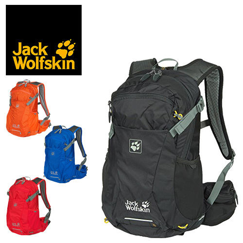 Jack wolf skin Jack Wolfskin rucksack day pack Moab jam 18 [MOAB JAM 18] 2002312 men's lady's present gift bag lapping Valentine