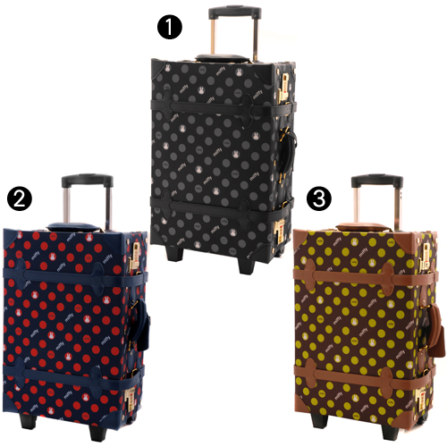 A suitcase carry case trunk traveling bag! The school excursion short travel that シフレ Siffler (26L) h0016t Lady's Eurasia trunk has a cute
